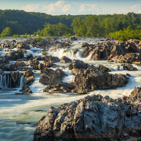 """Great Falls of the Potomac late afternoon, Time Exposure,I invite you to view some of my other images from around Maryland:"""